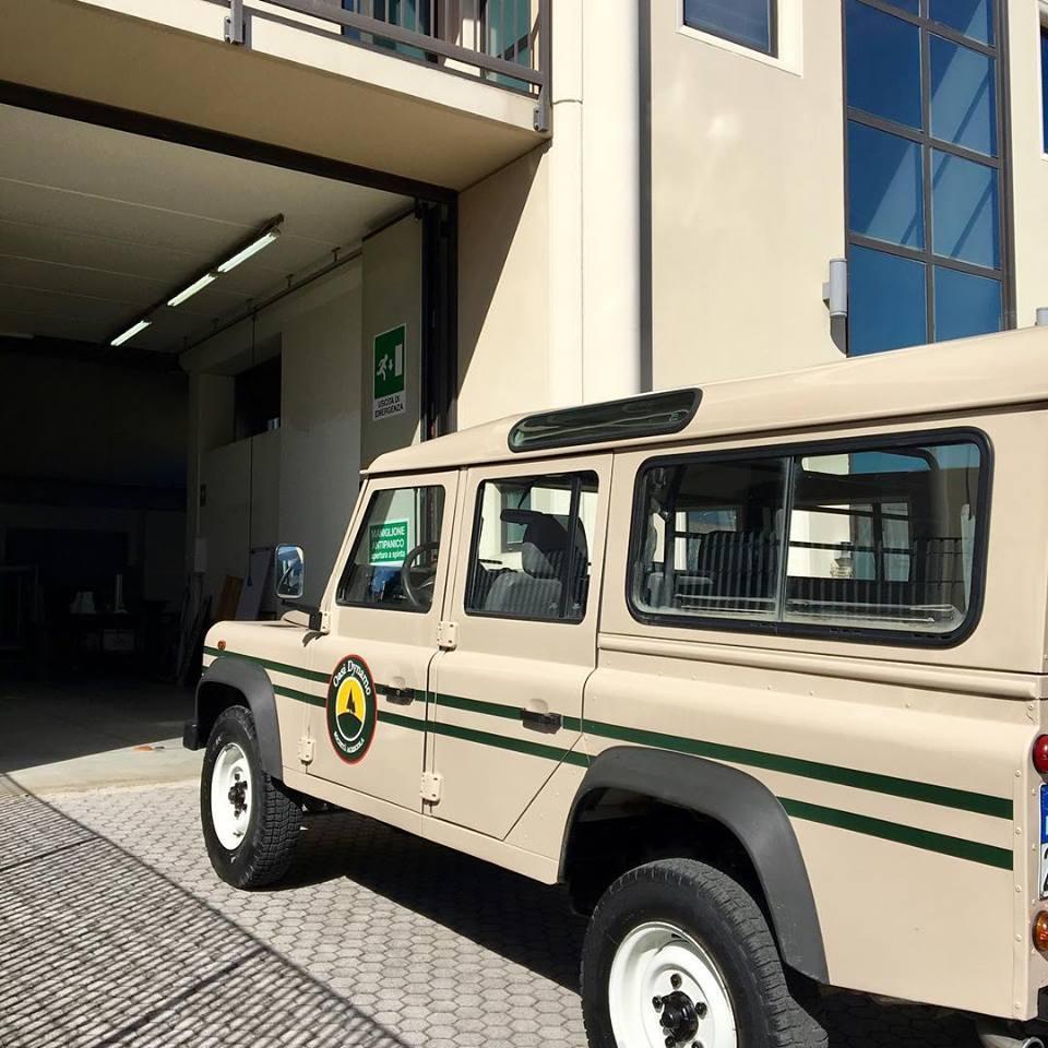 adesivi per veicoli Pistoia - Scuffi Pubblicità - Dynamo Camp