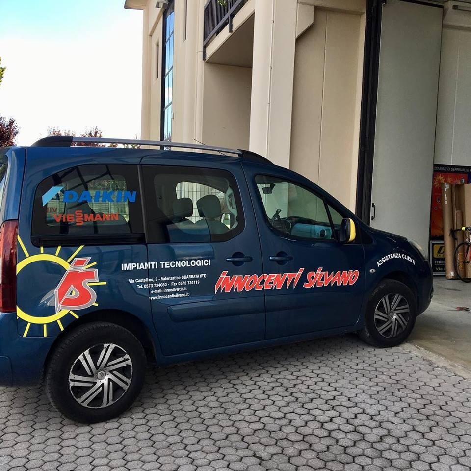 adesivi per veicoli Pistoia - Scuffi Pubblicità - Innocenti Silvano